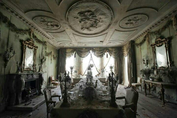 Paris Apartment Left Abandoned For Over 70 Years Wonderful Rooms Tiny Houses In 2019 Great Expectations Movie Places Mansions