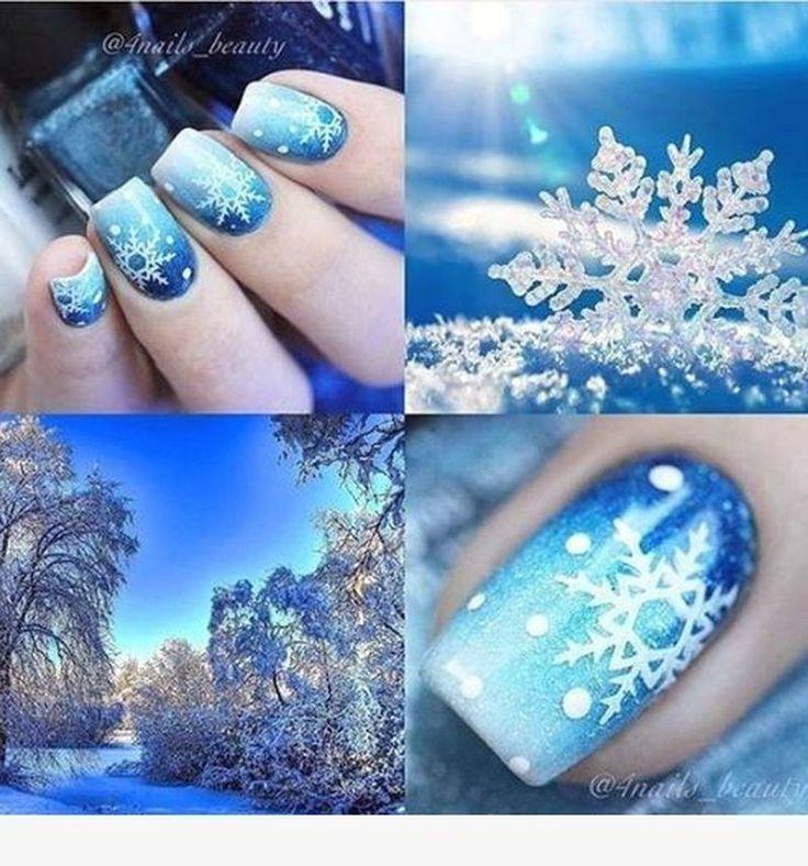 34 Sweet Christmas Nail Art DIY Ideas – Nails