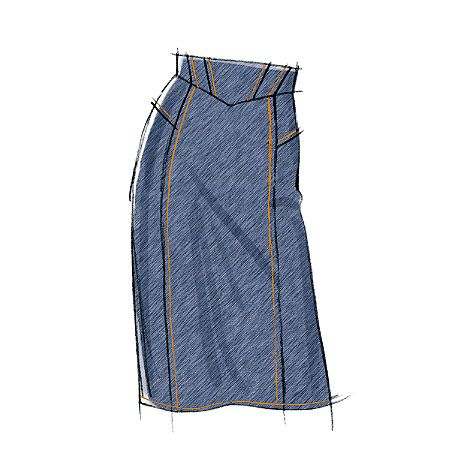 Can I pull off a high-waist?  Am I ready to dive into sewing clothes for myself?
