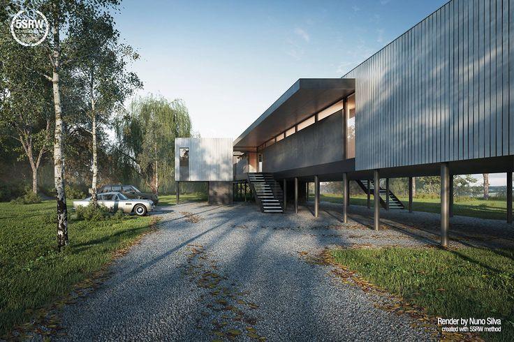 Contemporary Villa / Nuno Silva with 5SRW