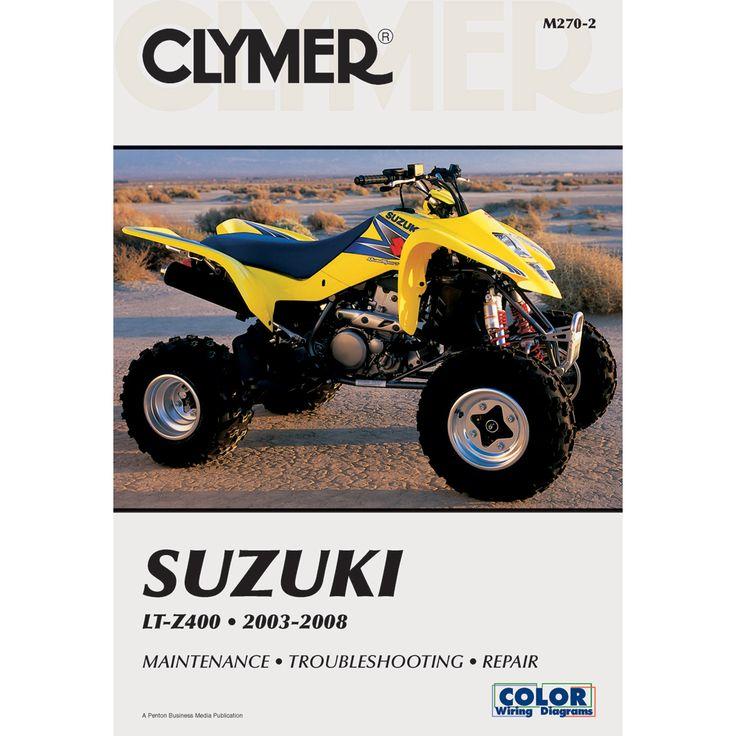 503 best images about manuals shops honda and clymer suzuki lt z400 2003 2008