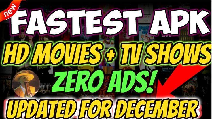 FASTEST APK for Movies TV Shows No ADS No Kodi Firestick