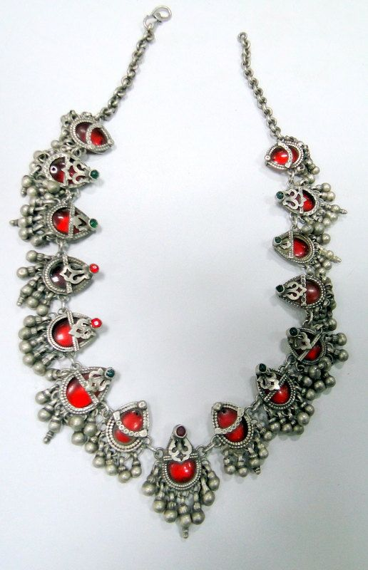 vintage antique ethnic tribal old silver pendants by TRIBALEXPORT, $599.00