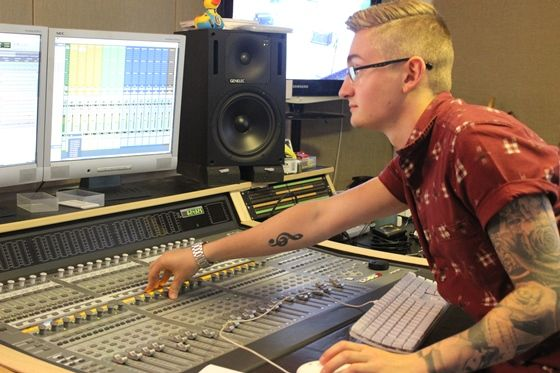 A music technician has managed to get not one but two dream jobs thanks to the skills and experience he gained at DMU.