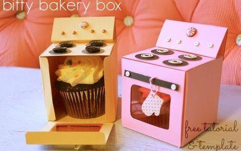 коробка для кексов своими руками - Поиск в Google
