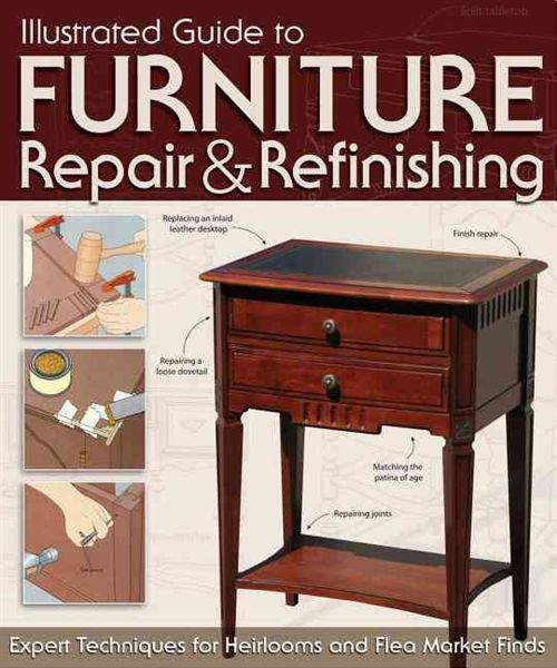 Products For Refinishing Furniture Pictures Illustrated Guide To Furniture Repair