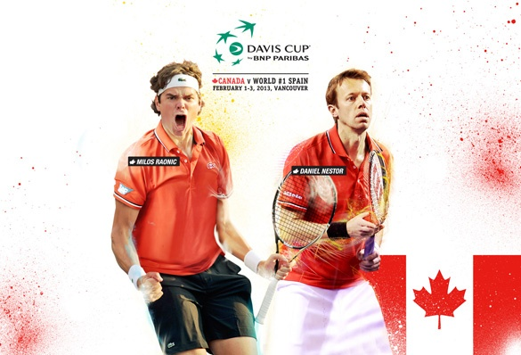 There are still a few tickets left for the Davis Cup taking place at Doug Mitchell Thunderbird Sports Centre in Vancouver, British Columbia. UBC will be the host site for the upcoming Davis Cup by BNP Paribas World Group first-round tie between Canada and Spain. The event will take place from February 1-3, 2013.   http://www.tenniscanada.com/daviscup/news.php