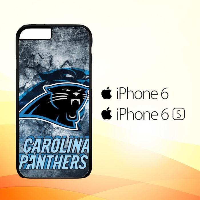 carolina panters R0312 iPhone 6 6S Case