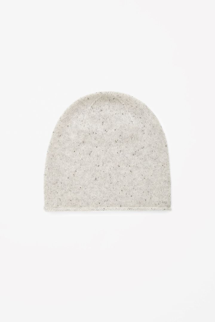 Speckled cashmere hat