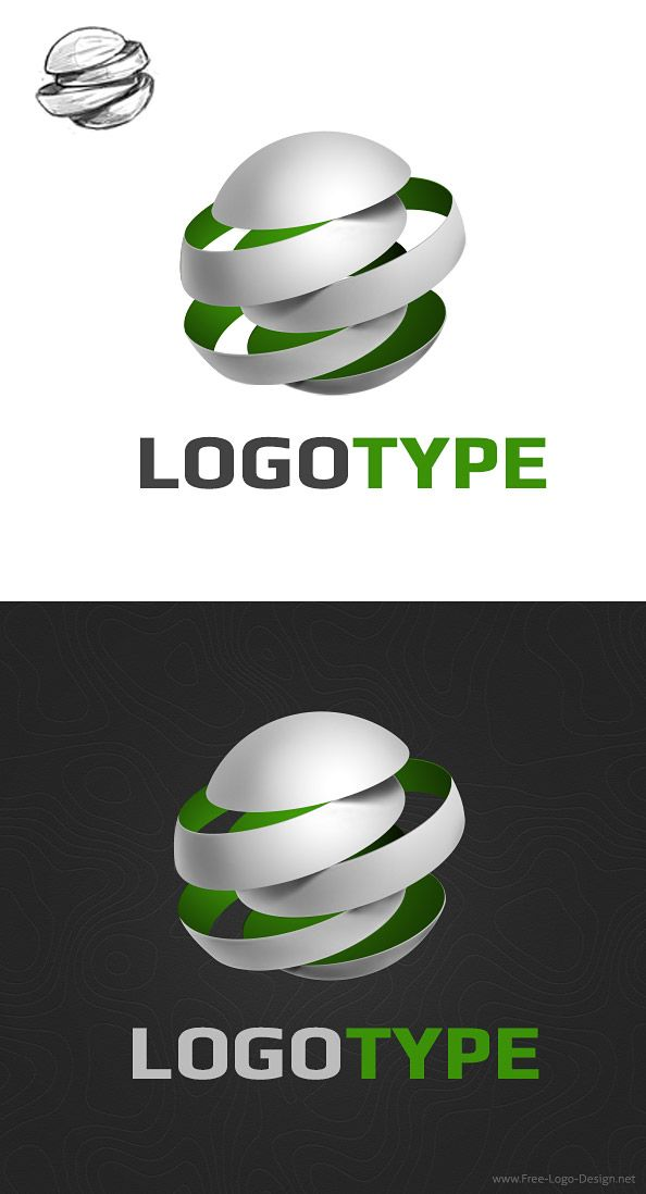 Free 3D logo design template made in the shape of a sphere. We've made a creative logo template that will make your brand to stand out in a crowd. Download the PSD sources for free! Continue reading →