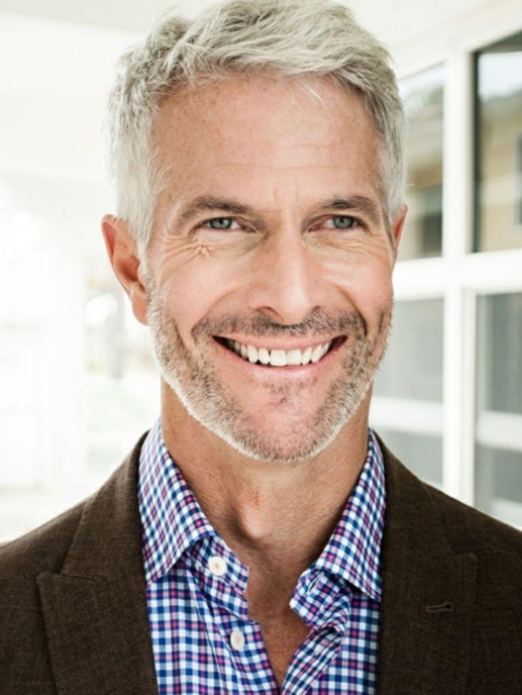 415 best gray haired man images on pinterest gray hair for Men over 50 pics