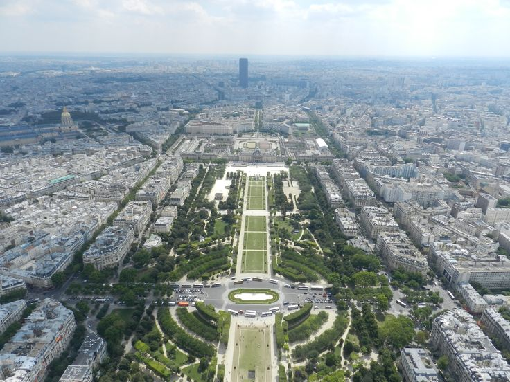 A view from Tour Eiffel