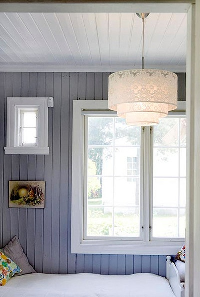 10 painted paneling ideas How to disguise wood paneling