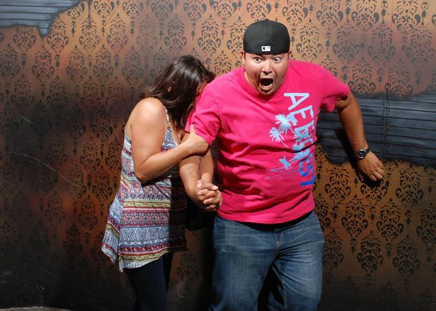 The 45 Best Pictures Of Scared Bros At A Haunted Hause Of 2012