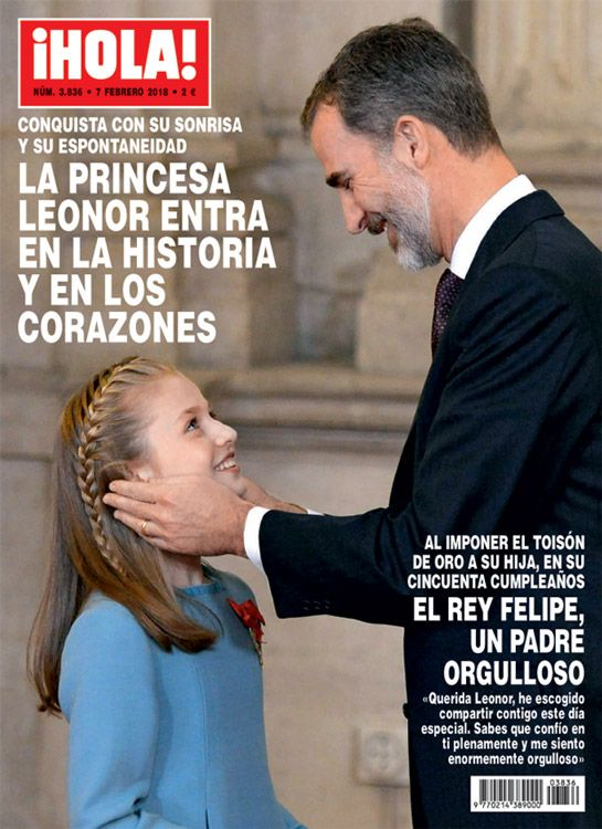 Foro Hispanico de Opiniones sobre la Realeza: Portada de Hola