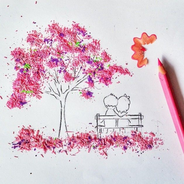 365project artist creates instagram sensation with awesome pencil shaving art