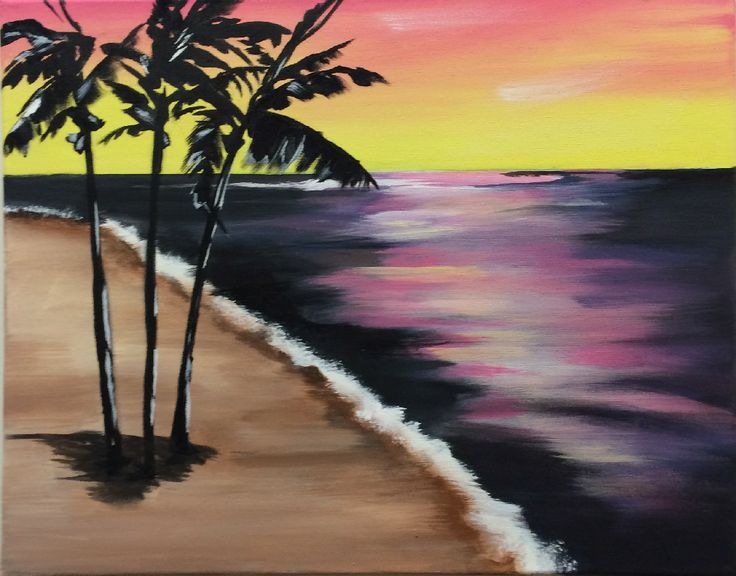 Our next Brush to Canvas class. Friday, January 17th from 7-9. Sign up today by calling 623-551-9177 or on our website www.MudPieStudios.net