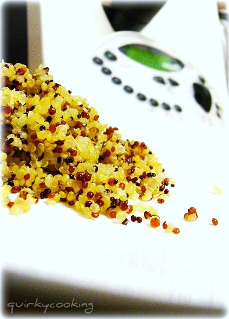 Quirky Cooking: Garlic Quinoa