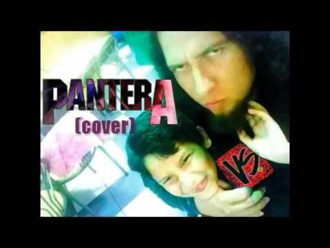 Pantera - Cementery Gates  (Cover) By Gabriel e Ian (shrill voice)