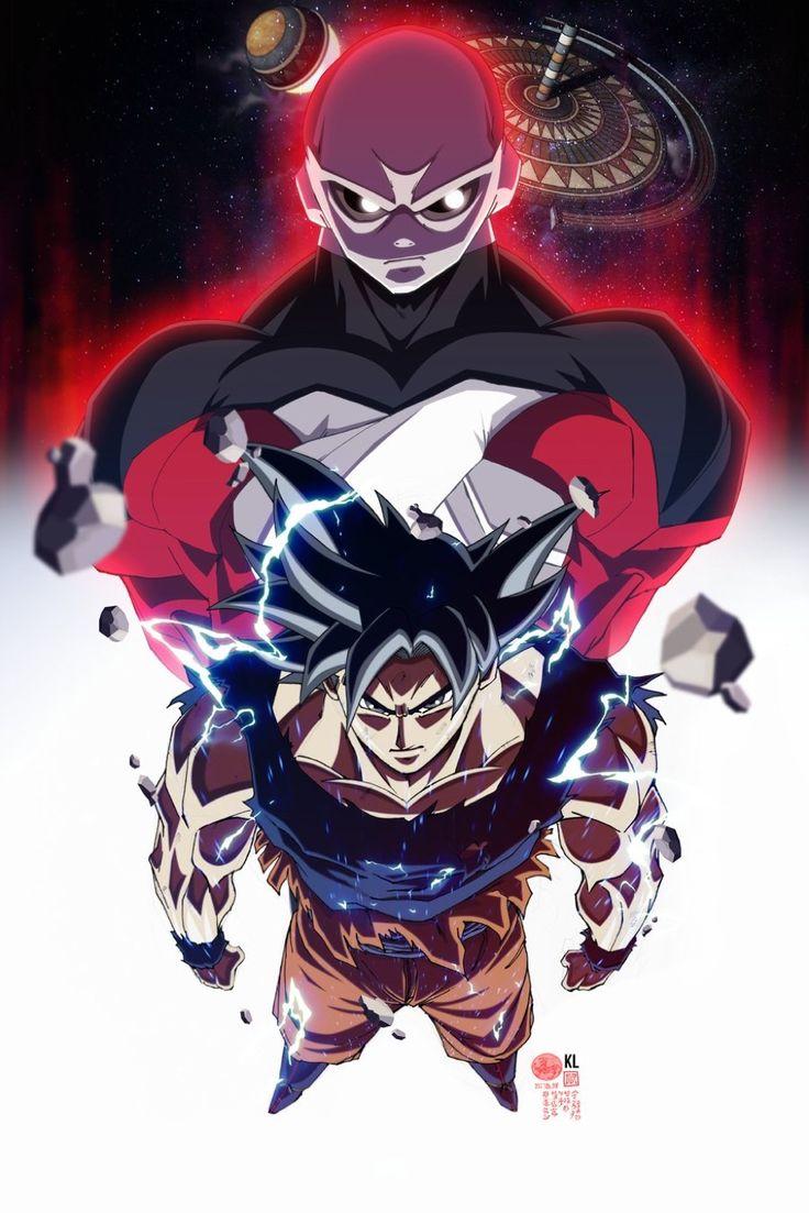 Goku e Jiren #DragonBallSuper #Anime