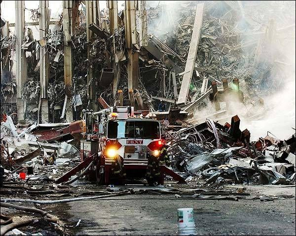 The FDNY Fights Its Way Through the Wreckage