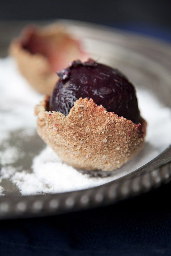 Inspiratie!!  Beautiful!! Smoked Salt-Crusted Beets...the most dramatic side dish ever!