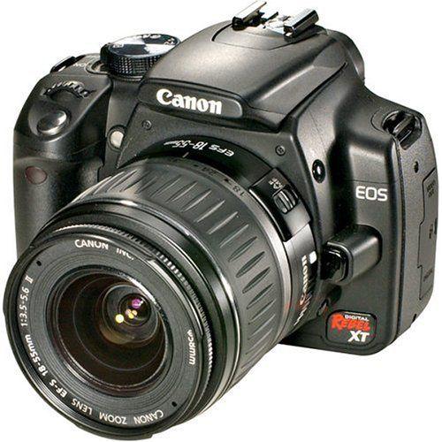 Canon Digital Rebel XT 8MP Digital SLR Camera with EF-S 18-55mm f3.5-5.6 Lens (Black) - http://dslrcameras.dealsforblackfriday.com/4925/canon-digital-rebel-xt-8mp-digital-slr-camera-with-ef-s-18-55mm-f3-5-5-6-lens-black.html