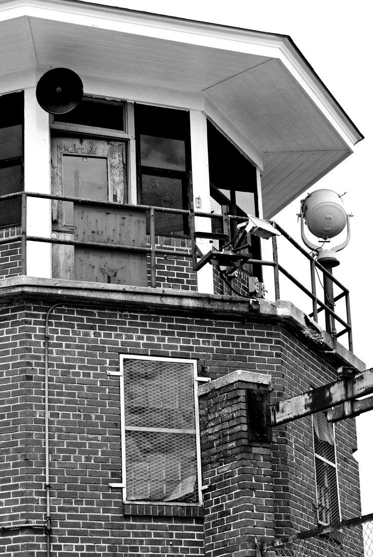 Lorton Prison guard tower (abandoned)