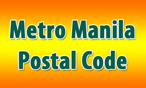 Metro Manila Postal Code Lists - Philippines
