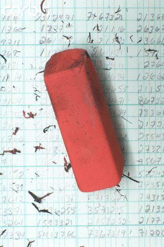 Eraser on ledger | www.drawing-made-easy.com | #eraser #drawing #instrument