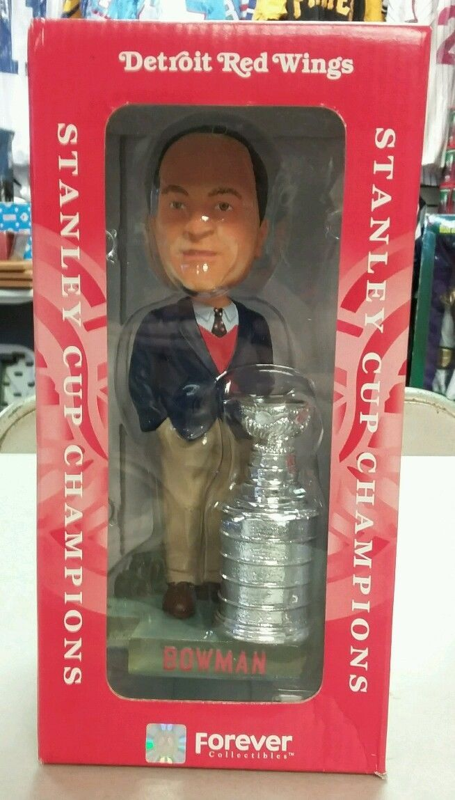 Detroit RED Wings NHL Scotty Bowman 2002 Stanley CUP Forever Bobblehead | eBay