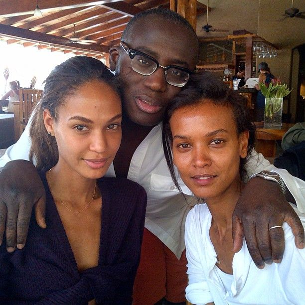 Behind the Scenes With Joan Smalls and Liya Kebede - W Magazine. Seriously without make up too?! God they are gorgeous.