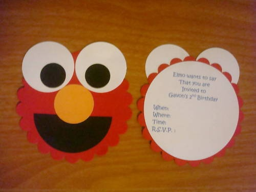 Birthday for a little kid? Well make it fun and put ur son/daughters favorite character and make it a party invitation !!!
