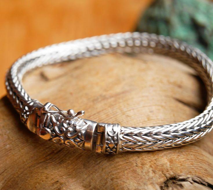 21 cm Armband Silber 7,5 x 5,5 mm Schlangenkette Halbrund Armkette Grob Glänzend | Uhren & Schmuck, Echtschmuck, Armbänder | eBay!