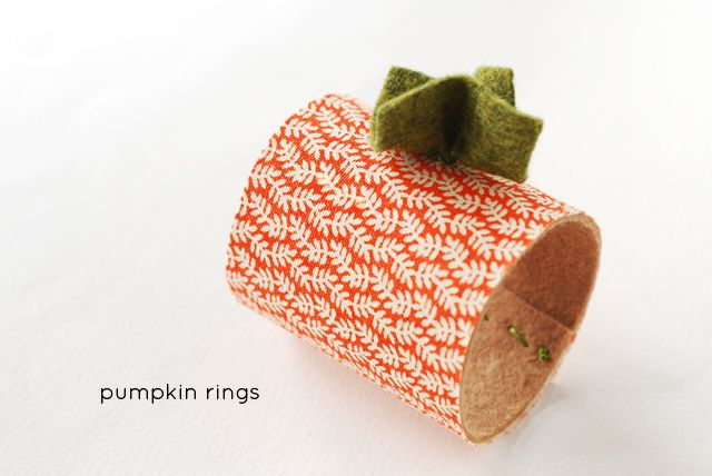 Pumpkin Rings (for napkins...or just fun decor!)