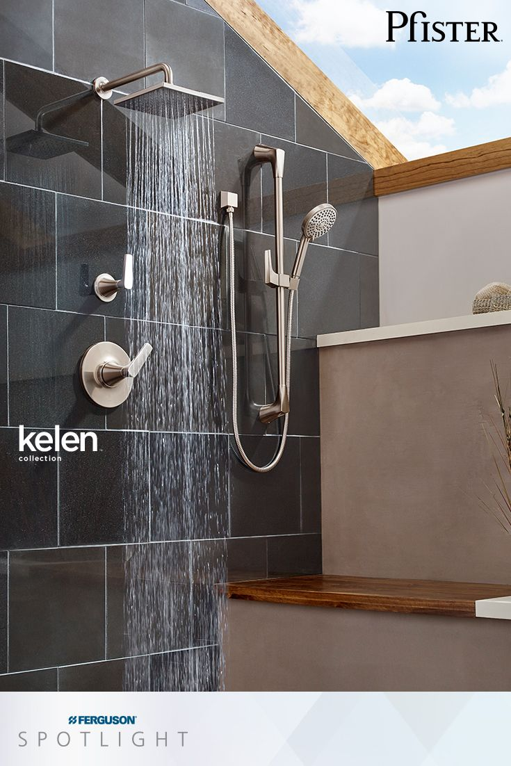 The @pfisterfaucets Kelen Shower Trim Kit Features All Metal Construction  For Durability And Brass Ball
