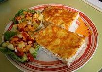 Kuře zapečené v sýrové rýži