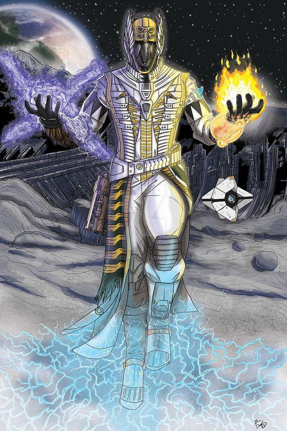 Destiny: Warlock print by DarlingInc on Etsy