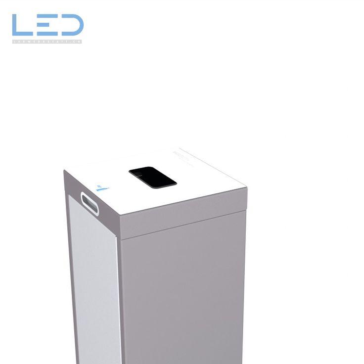 Abfallbehälter Multilith Wertstofftrennsystem, Waste Bin, Swiss made