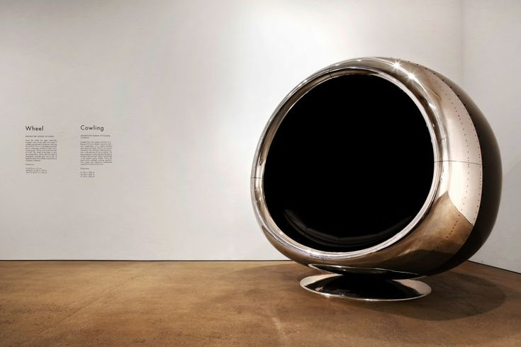 737 Cowling Chair -  Brothers Ben and Harry Tucker use reclaimed aircraft parts to make luxury, bespoke furniture that is certainly unique. This epic chair is made from engine remains of one of the world's biggest planes, the Boeing 737. Trust us when we say, it's fairly big! It features a leather black interior and ... Chill Things