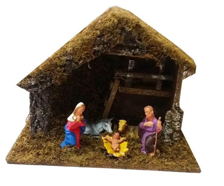 *** SUPER OFFERTA *** Capanna presepiale rappresentante la natività  a soli 7,00 € più IVA. #Christmas #Natale2015