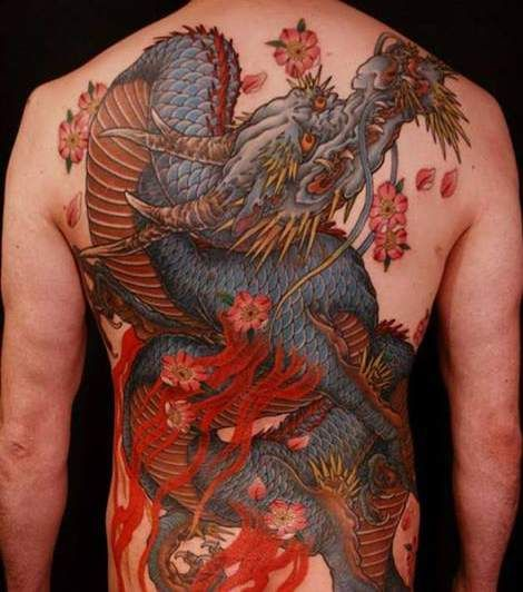 113 best images about dragon tattoo on pinterest on back for Sacred art tattoo corvallis