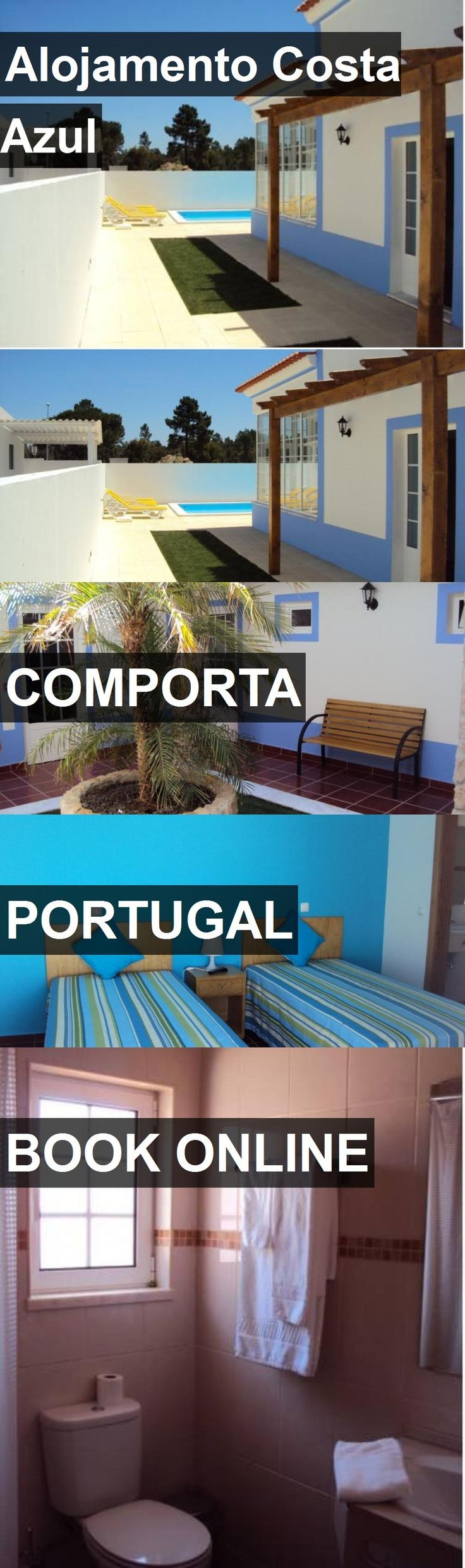 Hotel Alojamento Costa Azul in Comporta, Portugal. For more information, photos, reviews and best prices please follow the link. #Portugal #Comporta #travel #vacation #hotel