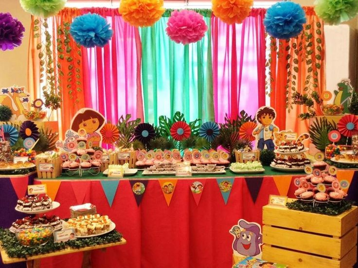 20 best Dora the explorer party images on Pinterest | Birthday party ...