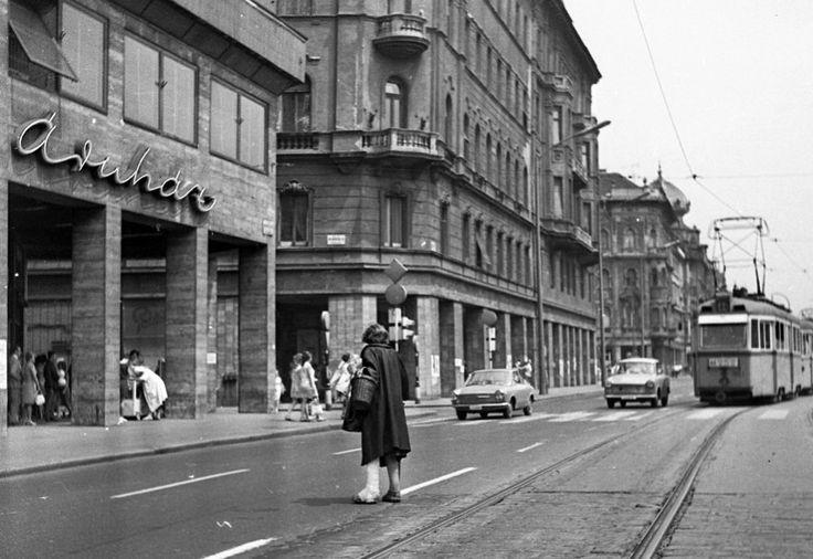 1972, Budapest, Rákóczi út.
