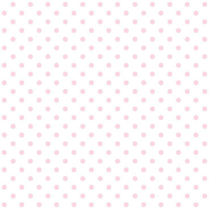 FREE printable pink polka dot pattern paper