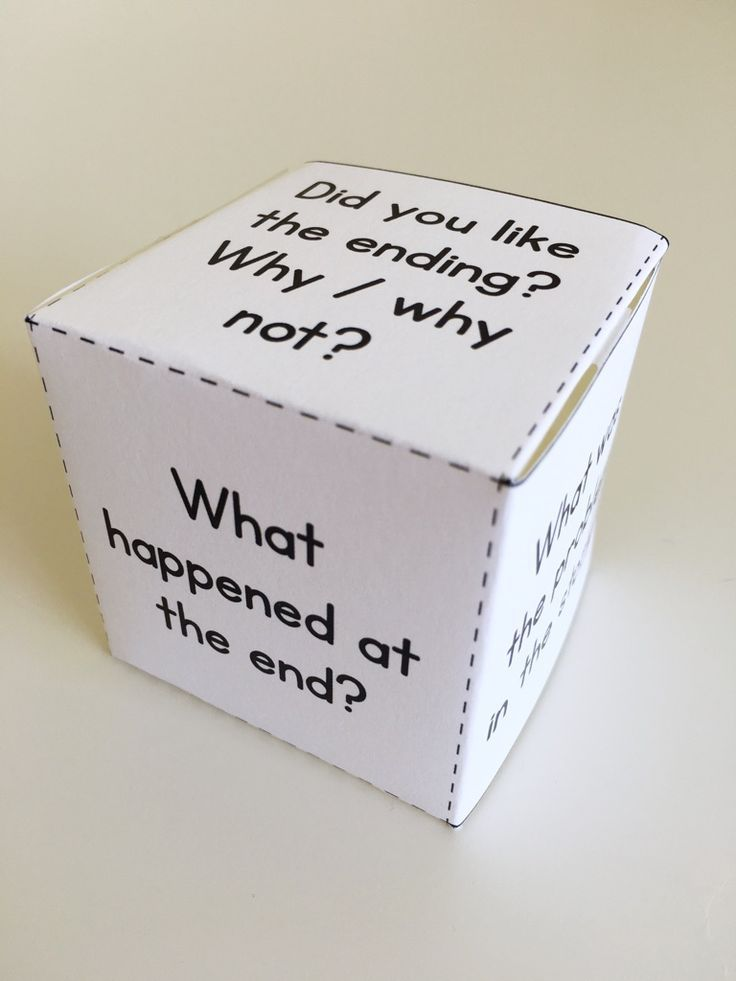 "Guided reading can get repetitive. To change things up, try making these comprehension question dice so that your groups can play ""roll a question."" This fiction die is part of the Guided Reading Resource Pack for Level C - click through to read more about the materials. $"