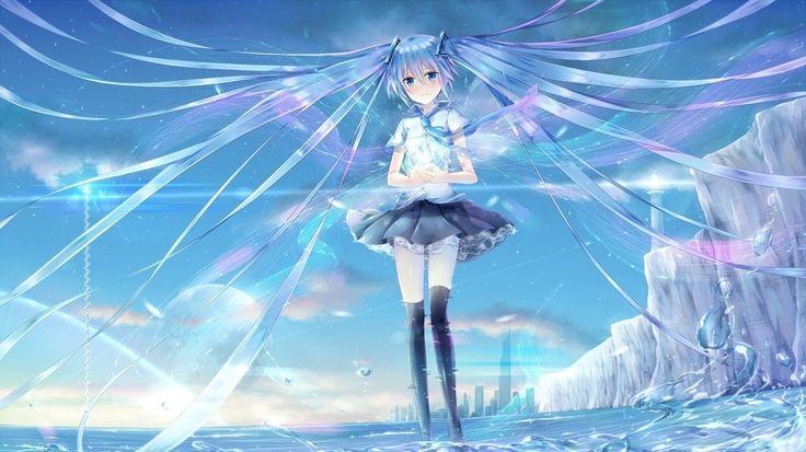 Hatsune miku, anime girl, vocaloid wallpaper