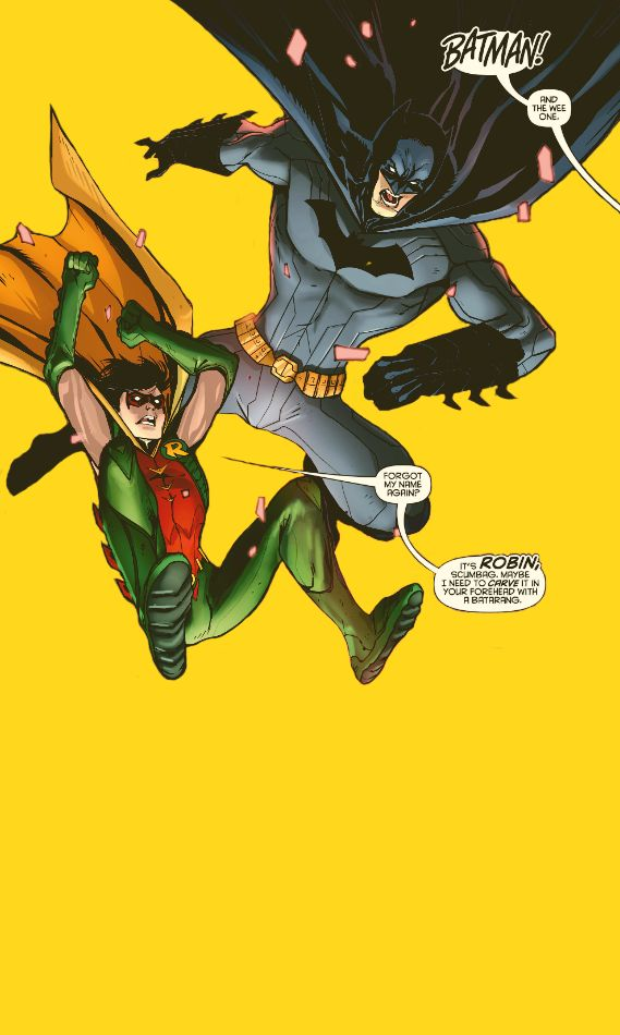 """""""Me and Bruce. Me and Batman."""" (Red Hood/Arsenal #4)"""