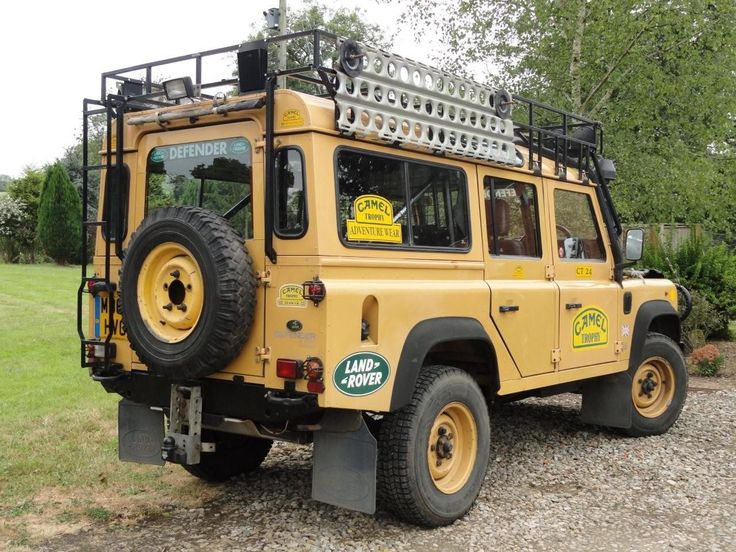 land rover 110 defender original camel trophy ebay. Black Bedroom Furniture Sets. Home Design Ideas